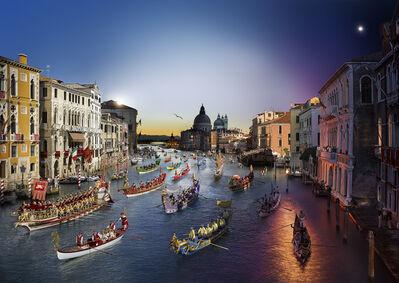 Stephen Wilkes, 'Regatta Historica, Venice', 2015