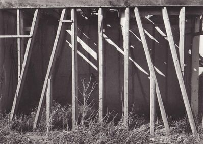 Agnès Varda, 'Ruines en bois', 1954