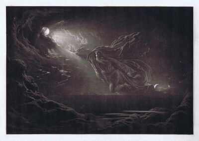 John Martin (1789-1854), 'Creation of Light ', 1824