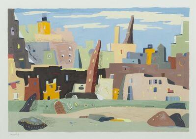 Giles Laroche, 'Mediterranean Cityscape Fantasy'