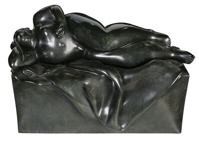 Fernando Botero, 'Reclining Woman', 1932-Today