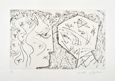 André Masson, 'Apollon et Dionysos', 1950