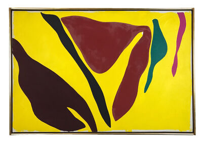 Ray Parker, 'Yellow', 1974