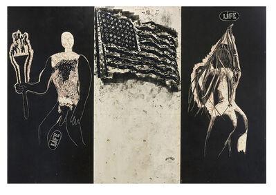 Damien Deroubaix, 'Great american nude 1', 2020