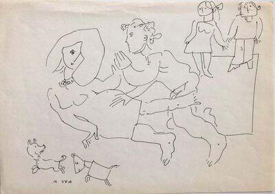 Moshe Avni, 'Untilted', 1960-1969