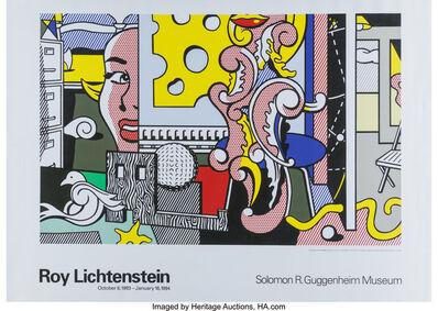 Roy Lichtenstein, 'Go For Baroque Guggenheim Museum Exhibition Poster', 1993
