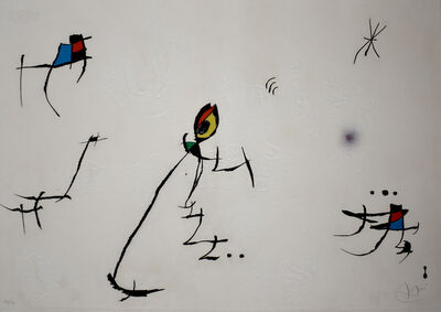 Joan Miró, 'Composition XI, from: Barcelona', 1972