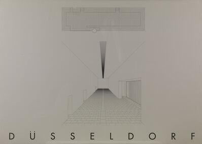 Gerhard Merz, 'Dusseldorf', 1993
