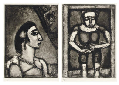 Georges Rouault, 'Quatorze planches gravées pour Les fleurs du mal', 1926