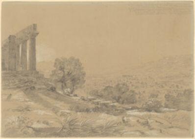 Thomas Cole, 'Temple of Juno, Agrigentum', 1842