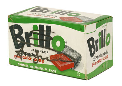 Andy Warhol, 'Brillo Box - 5 Sturdy Pads Plus Cake Soap'