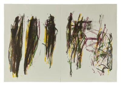 Joan Mitchell, 'Trees II (diptych)', 1992