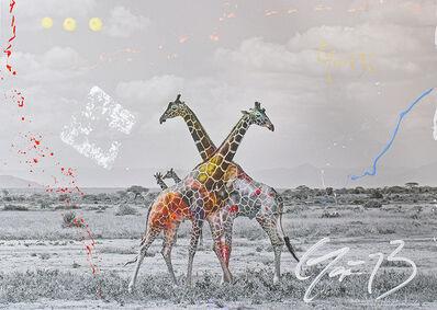 Arno Elias, 'Giraffe Duet', 2017