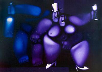 Oleg Tselkov, 'A couple', 1995