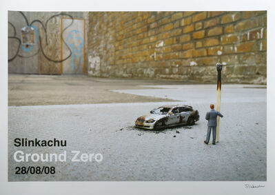 Slinkachu, 'Ground Zero', 2008