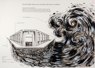 Carlos Garaicoa, 'Proyecto Sobre Aquello que Realmente nos Asusta y Tememos', 1994