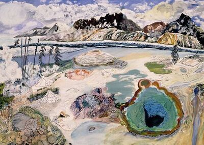 Olive Ayhens, 'Yellowstone', 1994