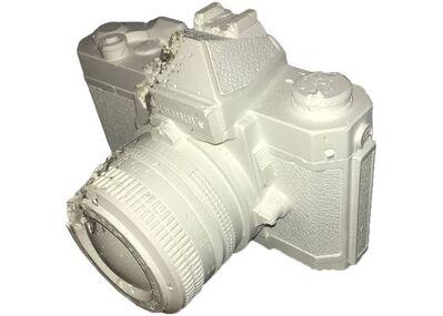 "Daniel Arsham, '""Reach Ruin"" Nikon Nikkormat FT Eroded Camera', 2012"