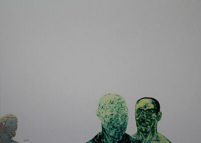 Leon Golub, 'Three Men', 1993