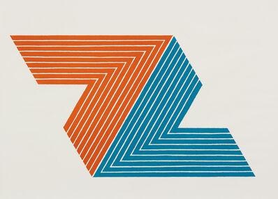 Frank Stella, 'Itata, from V series', 1968