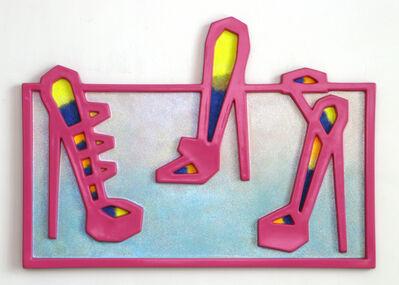 Craig Kauffman, 'Three Shoes (#64)', 2006