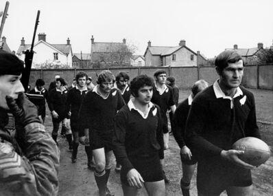 Peter Bush, 'NZ vs Ulster, Ravenhill, Belfast, Northern Ireland', 1972