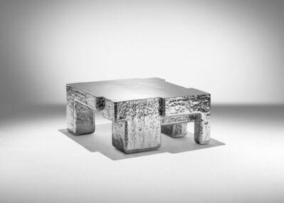 Nucleo, 'Metal Fossil Nickel Coffee Table ', 2017