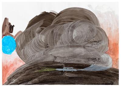 Ashley Hans Scheirl, 'Landscape with Smoking Car II', 2019