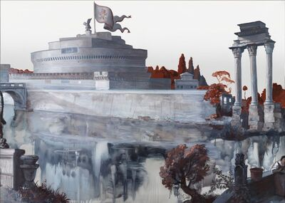 Rachel Feinstein, 'Panorama of Rome', 2012