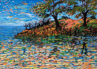 Yehouda Chaki, 'Spring Landscape', 1980