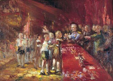 Aleksandr Nikiforovich Chervonenko, 'Flowers for Stalin', 1960