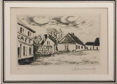 Maurice de Vlaminck, 'Cafè de Paris', 1927