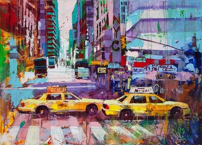 Voka, 'NYC, 100x140 cm', 2019