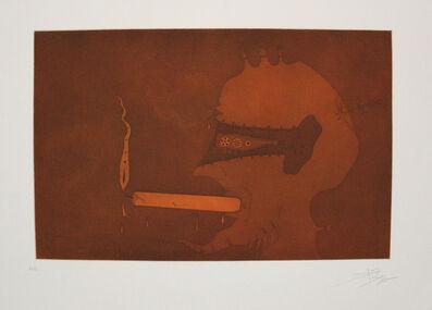 Joan Ponç, 'Home espelma', 1975