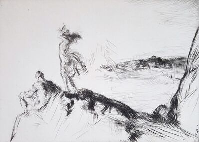 Edmund Blampied, 'Sea Breezes', 1923
