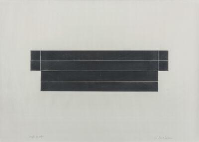Getulio Alviani, 'Scarto su carta', 1995