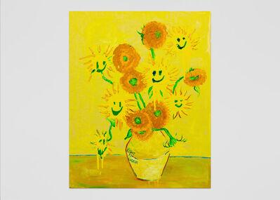 Vernon O'Meally, 'Visit-n-Gogh (Yellow)', 2018