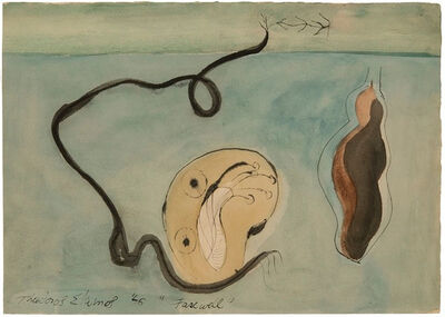 Theodoros Stamos, 'Farewell', 1946