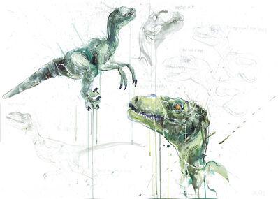 Dave White, 'Raptor Study', 2021