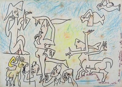 Roberto Matta, 'Welcome a notre monde', 1981