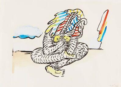 Horst Antes, 'Meditation', 1967