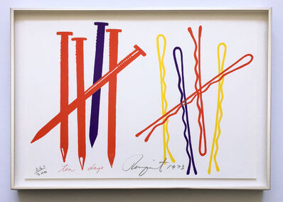 James Rosenquist, 'Ten Days (Glenn 68)', 1973