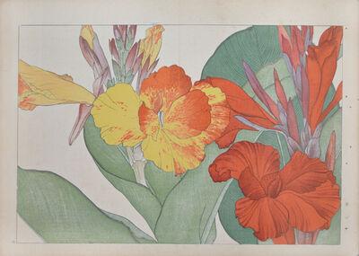 Unknown Artist, 'Orange and Yellow Canna', ca. 1920
