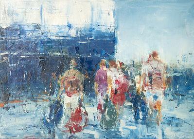 kllogjeri Fotis, 'Summer travelers 05', 2018