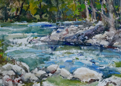 Gordon Fowler, 'Guadelupe Rapids', 2018