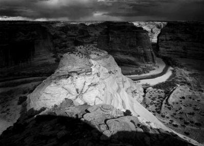 Michael Johnson, 'Canyon De Chelly, Storm', 1989