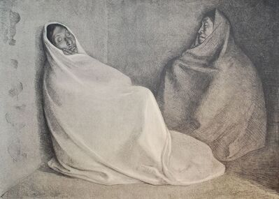 Francisco Zúñiga, 'Dos Mujeres Sentada', 1979