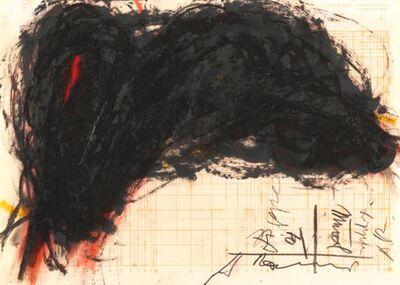 Arnulf Rainer, 'Lippen Mund', 1970