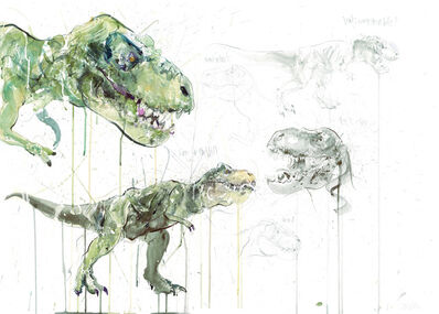 Dave White, 'T Rex Study - Unique Hand finished edition', 2021