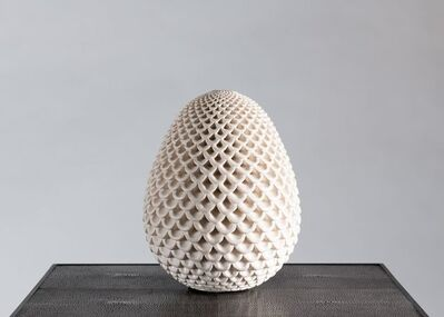 Per Liljegren, 'White Egg-Shaped Object', 2019